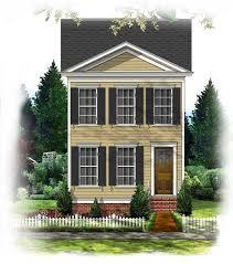 BSA Home Plans  Littlebury Row  Federal  Historic
