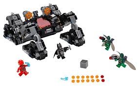 <b>LEGO</b> Set <b>76086</b>-1 Knightcrawler Tunnel Attack (2017 <b>Super Heroes</b>)