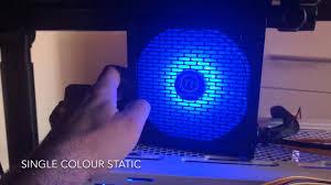 <b>Thermaltake Litepower RGB 550W</b> - RGB effects - YouTube