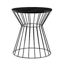 Lulu <b>Side Table French</b> Black - Adore Decor : Target