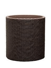 <b>Кашпо CYLINDER PLANTER</b> S виски-коричневый