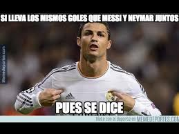 Real Madrid: Cristiano Ronaldo y los mejores memes de goleada al ... via Relatably.com