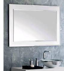 bathroom mirror storage framing