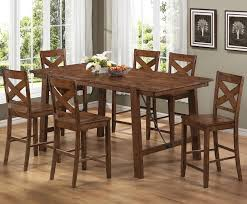 dining room tables chairs square:  brilliant counter height dining table ravishing room tables furniture stores also counter height dining room sets