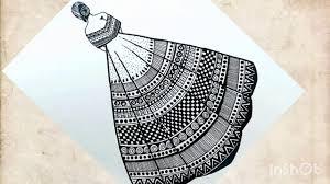 Gown <b>Mandala Art</b> for beginners