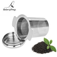Stainless Steel Tea Infuser <b>Reusable Mesh Tea Strainer</b> Loose Leaf ...