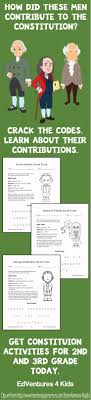 Constitution Day - Activities for 2nd and 3rd Grade | Constitution Day ...