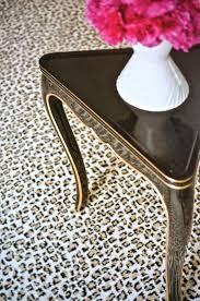 cheap leopard print rug for chic floor decoration ideas chic zebra print rug