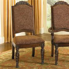 furniture t north shore: millennium north shore dining side chairs with elegant back crown
