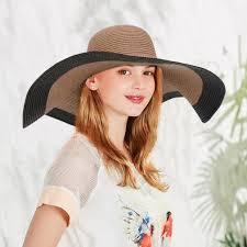 <b>Женщины мода лето</b> зонтик Hat Wide краев Sun <b>Beach</b> шляпа ...