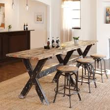 designs sedona table top base: product console table top finish natural base finish black distressed yes top material wood base material wood hardware material iron