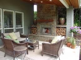 outdoor fireplace paver patio: outdoor fireplace bull mountain traditional patio