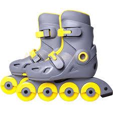 Детские роликовые <b>коньки Xiaomi</b> Smart Skates (Желтый)