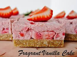 Image result for vanilla cake with strawberries