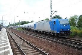 Ligne de Berlin à Halle