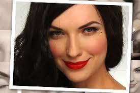 clic pin up makeup tutorial dita von teese 39 s