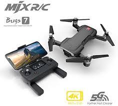 Tickas <b>B7</b> Drone, <b>MJX Bugs</b> 7 <b>B7</b> RC Drone with Camera 4K 5G ...