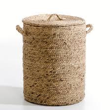 <b>Корзина</b> круглая из плетеных волокон эйхорнии, в60 см, liane ...