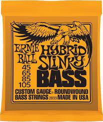 Купить 45-105 <b>Ernie</b> Ball Hybrid Slinky 2833 (Бас-<b>гитара</b>) - <b>струны</b> ...