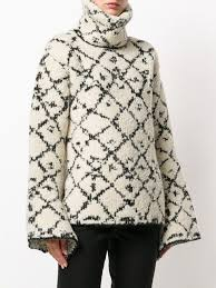 <b>Ports 1961</b> oversized high neck sweater | Tony Zeng-Knitting ...