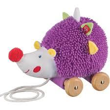 Купить каталку-игрушку <b>Happy Baby Игрушка</b>-каталка Ёж 330349 ...