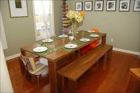 Dining Room Table With Benches Dining Table With Bench Seating Is Also A Kind Of Dining Room