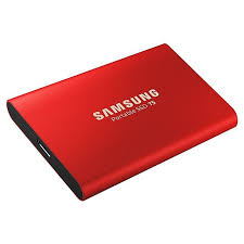 <b>500GB Samsung T5</b> Portable SSD <b>MU</b>-<b>PA500R</b>/<b>WW</b> Red