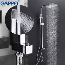 ซื้อที่ไหน <b>Gappo Shower</b> Faucets Waterfall Wall <b>Shower</b> Mixer Tap ...