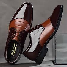<b>New 2019</b> Business Dress Men <b>Formal Shoes</b> Wedding Pointed Toe ...