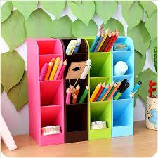 Stay Gold <b>Creative Desktop Storage</b> Box Stationery Tube Sundries ...