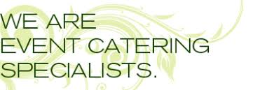 catering specialist