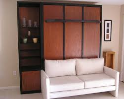 4 real wood custom furniture clearwater gulfport oldsmar st 2 tone wall beds with attached sofa alluring murphy bed desk