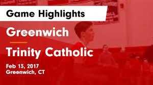"""<b>Greenwich</b> HS Basketball Video """"<b>Greenwich</b> vs <b>Trinity</b> Catholic ..."""
