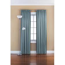 Hidden Tab Curtains Mainstays Chevron Polyester Cotton Curtain With Bonus Panel
