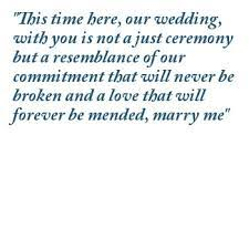 Commitment Ceremony Quotes | Poetry Lovers