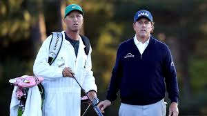 Phil Mickelson splits from long-time caddie