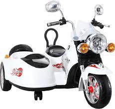 <b>Детский</b> электромотоцикл First Car <b>Harley</b>-Davidson Fire Locomotive
