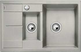 <b>Кухонная мойка Blanco Metra</b> 6S Compact Silgranit Жемчужный ...