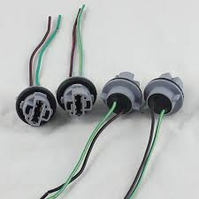 wiring harness connector promotion shop for promotional wiring 7440 t20 led bulb brake turn signal light socket wiring harness plug connector 10pcs