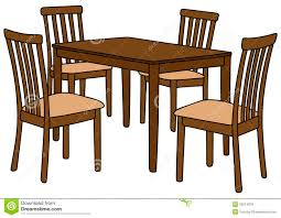 kitchen table clipart dining