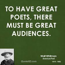 Walt Whitman Poetry Quotes | QuoteHD