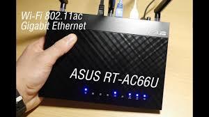 Обзорчик <b>роутера ASUS RT</b>-<b>AC66U</b> - YouTube