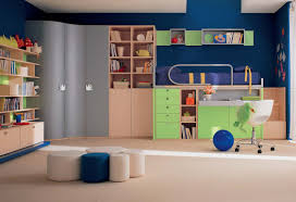 bedroom kid:  cute pictures of awesome kid bedroom design and decoration for your lovely children endearing blue