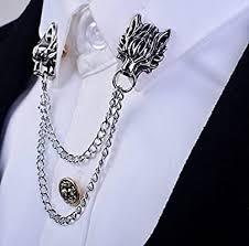 MAIHAO 1pc Silver Chain Dragon Wolf Tiger ... - Amazon.com