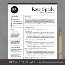 ideas about teacher resume template on pinterest   teacher    professional resume template   cv template   mac or pc for word   creative  modern design   cover letter   instant download   the kate  free teacher