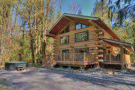 cabin decor lodge sled: tall timbers lodge secluded hot tub index cabin