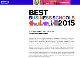 kellogg finance network best business schools 2016 bloomberg businessweek 20 2015