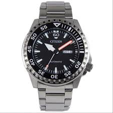 Genuine Citizen Gent Automatic Stainless Steel Watch - <b>NH8388</b> ...