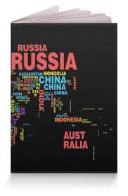 Обложка для паспорта <b>printio карта</b> мира по низкой цене с ...