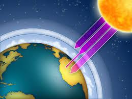Resultado de imagem para fotos da camada de ozônio